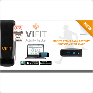 Шагомер Medisana ViFit Connect